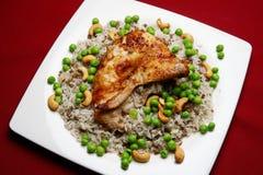 рис lebanese цыпленка Стоковое Изображение RF