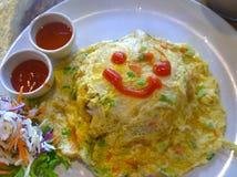 рис omeret в таблице Стоковые Изображения