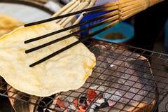 Рис Pong торты риса Таиланда Стоковая Фотография RF