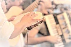 Ритм в тамбурин Стоковое Изображение