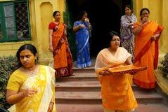 ритуалы Индии wedding Стоковые Изображения