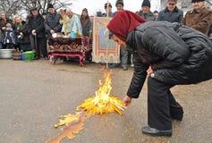 ритуал баптиста Стоковая Фотография RF