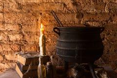 Ритуал ` ведьм и день умерших стоковое фото rf