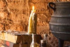 Ритуал ` ведьм и день умерших стоковые изображения rf