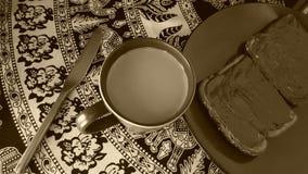 Ритуал утра Стоковое фото RF