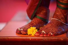 Ритуал цветка Bridal Стоковое Фото