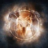 Ритуал черной магии стоковая фотография