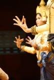 Ритуальные положения руки танцоров apsara Стоковые Изображения