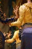 Ритуальные положения руки танцоров apsara Стоковые Изображения RF