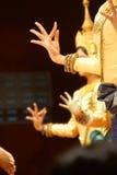 Ритуальные положения руки танцоров apsara Стоковые Фото