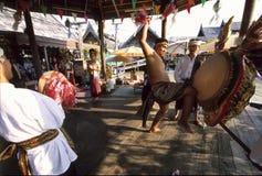 Ритуальный танец стоковые фото