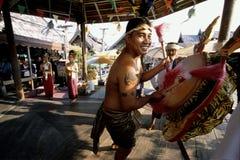 Ритуальный танец стоковые изображения rf