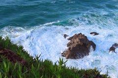 Рифы в Атлантическом океане Стоковая Фотография RF