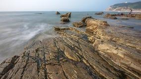 Рифы и волны стоковые фотографии rf