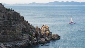 Рифы и волны стоковое изображение rf