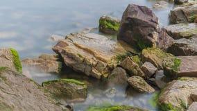 Рифы и волны стоковое фото rf