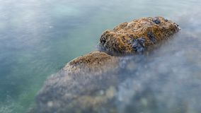 Рифы и волны стоковое фото