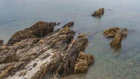 Рифы и волны стоковое изображение