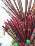 рифлит деревянное Стоковое фото RF
