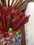 рифлит деревянное Стоковое Фото