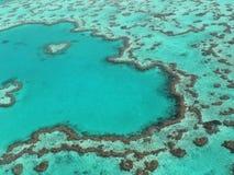 риф сердца барьера большой Стоковое фото RF