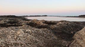 Риф трясет крупный план Стоковое фото RF