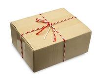 Рифлёная картонная коробка Стоковые Изображения