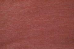 Рифлёная красная бумажная текстура Стоковое Изображение