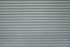 Рифлёной предпосылка текстуры металла покрашенная дверью поверхностная Grunge текстурирует предпосылки Старая треснутая предпосыл Стоковая Фотография