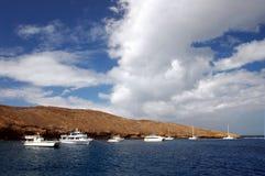 риф molokini стоковая фотография rf