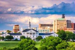 Ричмонд, городской пейзаж Вирджинии Стоковые Фотографии RF