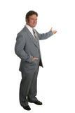 риэлтор 4 бизнесменов полный Стоковая Фотография RF