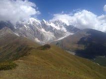 Ридж в верхнем Svaneti стоковые изображения rf