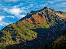 Ридж на Mt ненастно стоковое фото rf