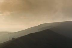 Ридж скалистой вершины Mam Стоковое Фото
