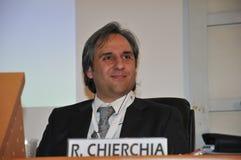 Роберто Chierchia, генеральный секретарь CISL FP Рима Стоковая Фотография RF