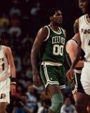 Роберт Parrish, Celtics Бостона Стоковые Изображения