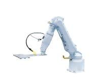 Робототехническая рука на производственной линии Стоковая Фотография RF