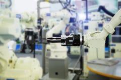 Робототехническая рука Стоковые Изображения