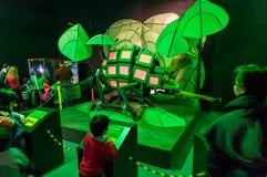 Робототехнические черепашки и насекомые Стоковое Изображение