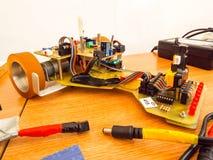Робототехнический автомобиль Стоковые Изображения RF