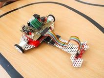 Робототехнический автомобиль Стоковое фото RF