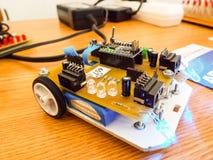 Робототехнический автомобиль Стоковое Изображение RF