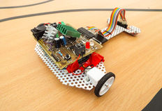 Робототехнический автомобиль Стоковое Фото