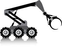 Робототехнический вектор руки Стоковые Фотографии RF