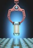 Робототехнический выбирать Стоковые Изображения RF