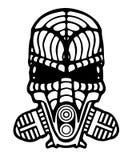 Робототехнический шлем дыма Стоковые Изображения RF