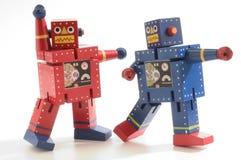 роботы танцы стоковое изображение rf