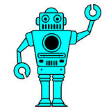 Роботы Стоковые Изображения RF