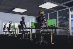 роботы Стоковое Фото